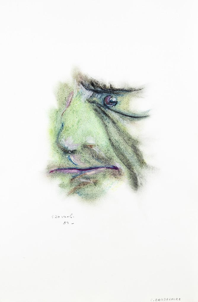 Charles Baudelaire, caricatura