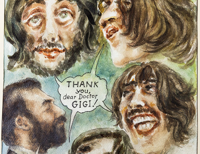 The Beatles, caricatura