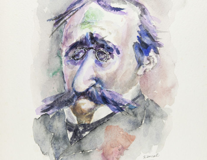 Arrigo Boito, caricatura