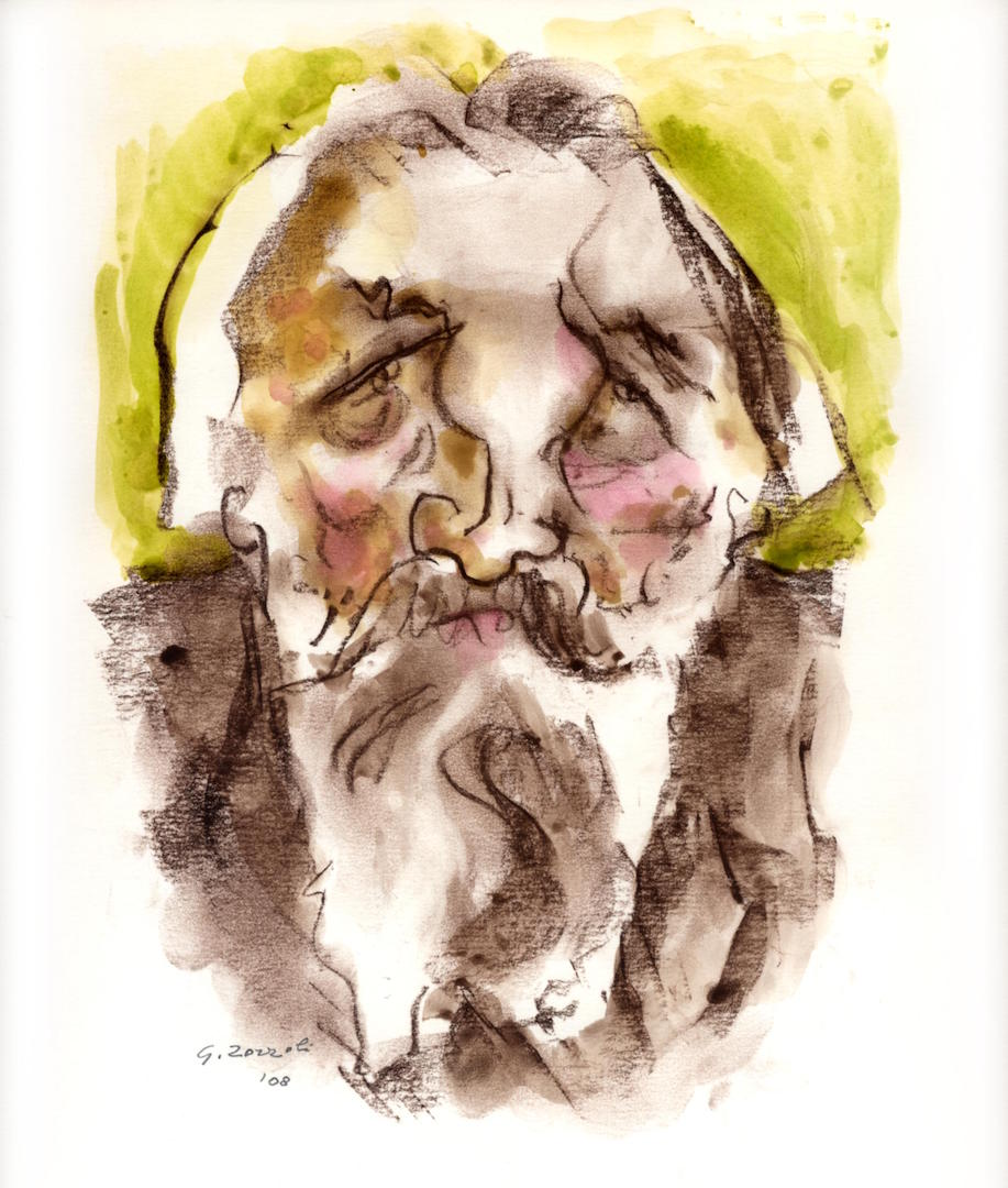 Johannes Brahms, caricatura