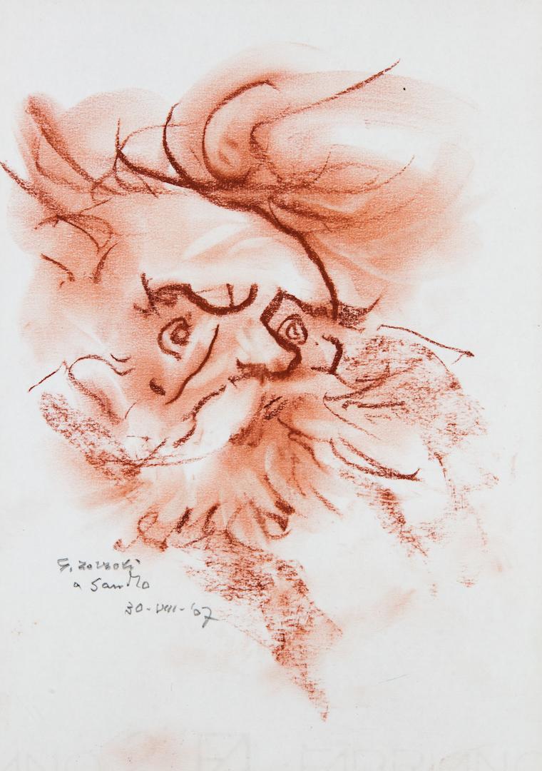 Giosuè Carducci, caricatura