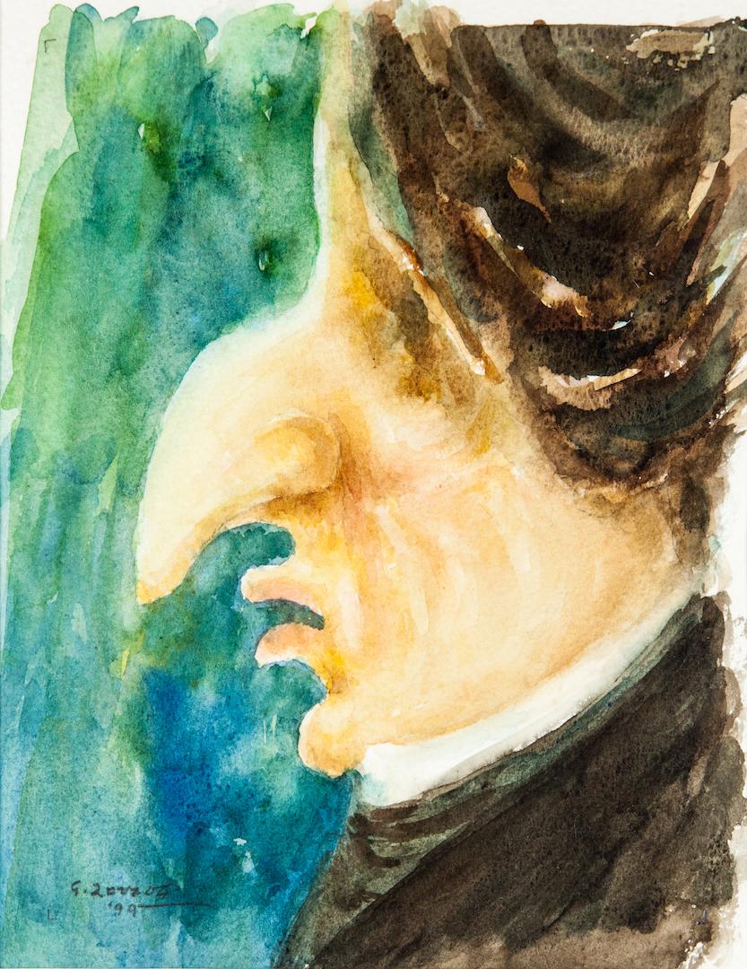 Frederic Chopin, caricatura
