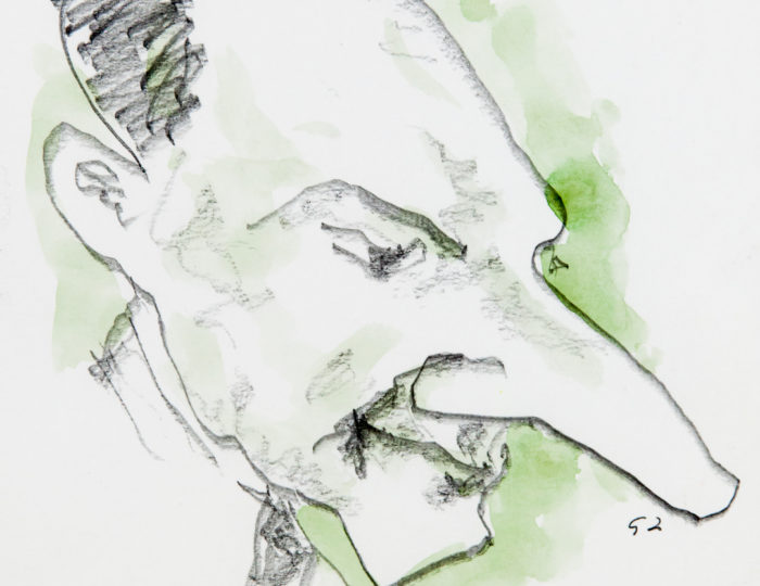 Enrico Fermi, caricatura