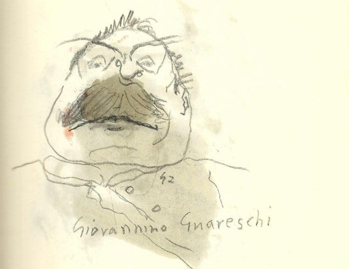 Giovannino Guareschi, caricatura