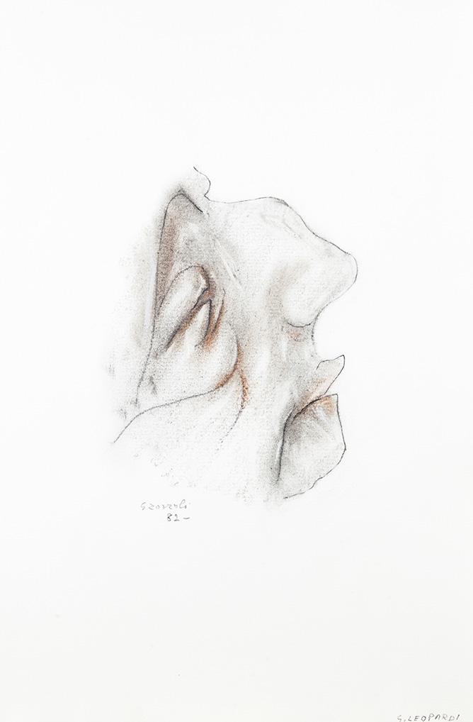 Giacomo Leopardi, caricatura