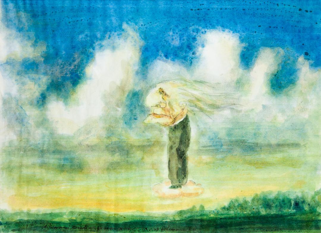 Franz Liszt in Paradiso, caricatura