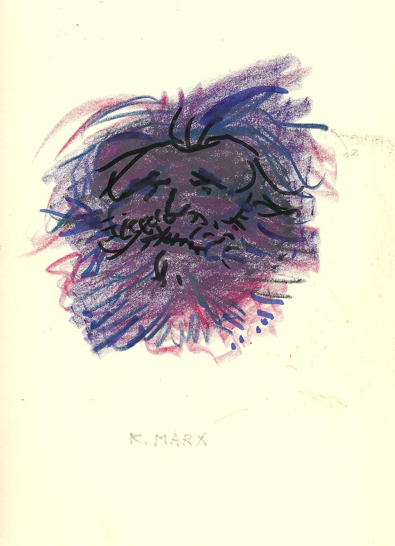 Karl Marx, caricatura