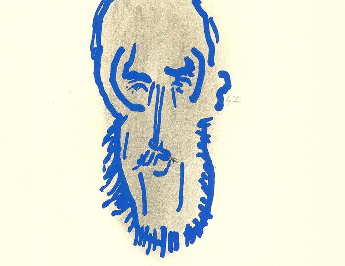 Charles Peguy, caricatura