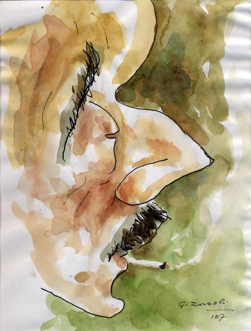 Giacomo Puccini, caricatura