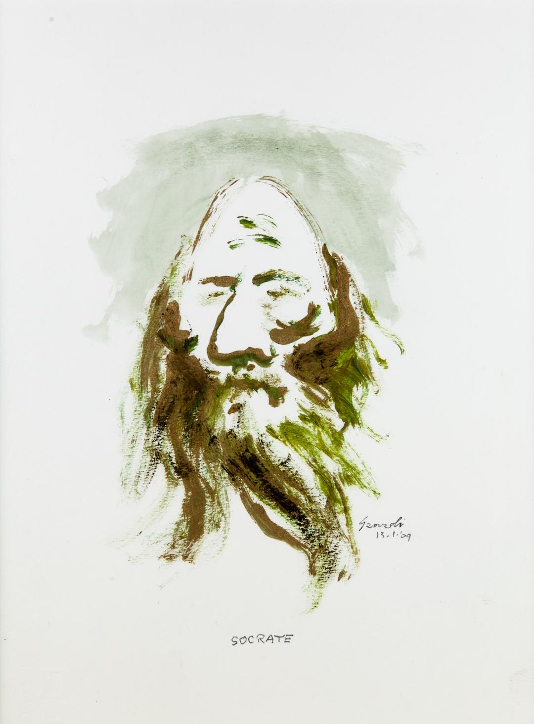 Socrate, caricatura