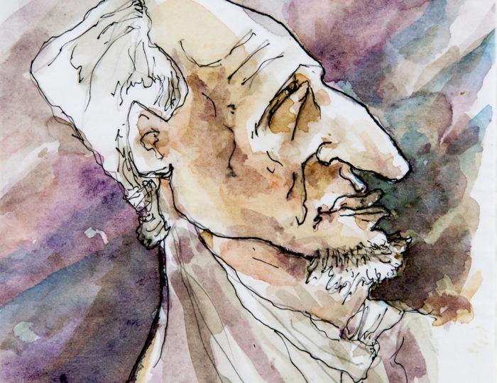 François Truffaut, caricatura