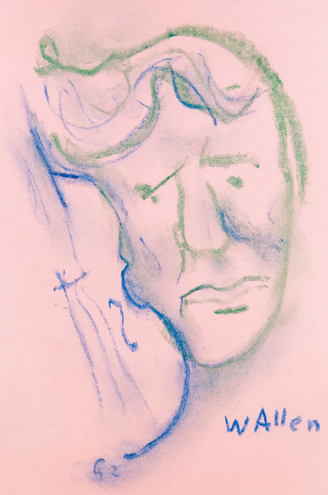 Woody Allen, caricatura